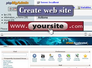 Create web site
